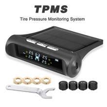 TPMS Car Tire Pressure Alarm Sensor Monitoring System Display Power Charging Temperature Warning with 4 External Sensors 4g lte modbus tcp gateway ac dc power status temperature monitoring alarm system support remote reset reboot rtu5026