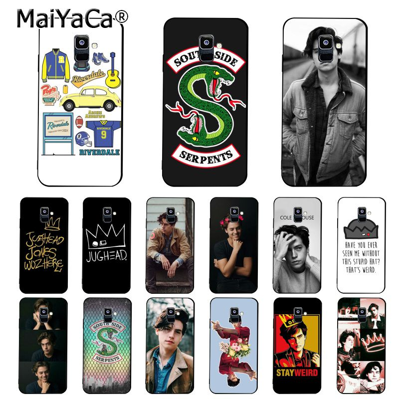 MaiYaCa Amerikanischen TV <font><b>Riverdale</b></font> Jones Crown Telefon Fall Für <font><b>Samsung</b></font> <font><b>Galaxy</b></font> A7 A8 A6 Plus A750 A9 2018 A50 A70 a20 A30 A40 image