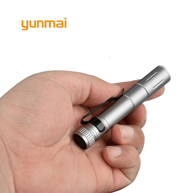 3 modèle 2000LM Mini portable Petit porte-stylo lampe de poche LED Marche De Nuit éclairage Voiture travaux Dentretien Torche En alliage Daluminium