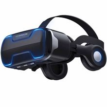 Virtual Reality Headset VR SHINECON 3D VR Bril Duizend Magische Spiegel Vier Generaties Draagbare G02ED(China)