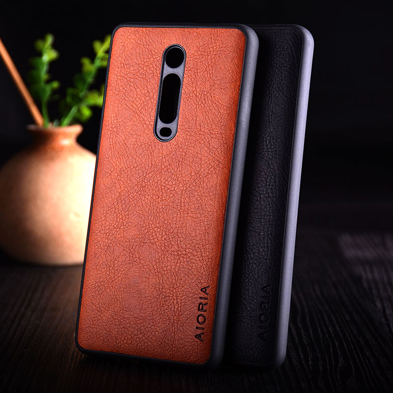 Case For Xiaomi Mi 9T Mi9t Pro Funda Luxury Vintage Leather Skin Coque With Soft TPU + PC Hard Cover For Xiaomi Mi 9T Case Capa
