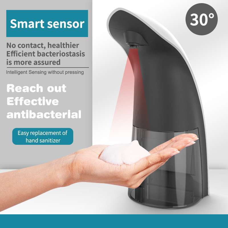 330 мл ванная комната электричество мыло дозатор интеллектуальный бесконтактный инфракрасный датчик автоматический вспенивание мыло контейнер кухня аксессуары