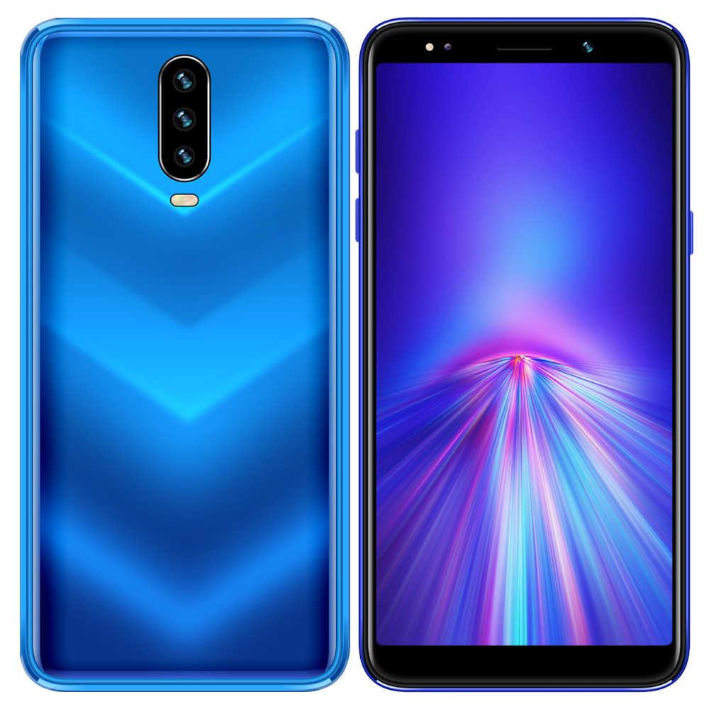Smartphones 4G RAM 64G ROM Android téléphones mobiles 13MP + 5MP caméra 720P écran Quad Core MTK téléphones portables intelligents débloqués