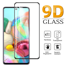 9D Full Tempered Glass For Samsung A71 Screen Protector Samsung A51 A42 A12 A50 A41 A31 A21s A20e A70 A10 A01 A11 A30 A40 Glass