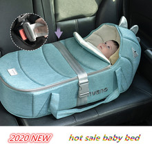2020 Hot Sale Baby Nest Bed Portable Crib Travel Bed 80*45 Infant Toddler Cotton Cradle for Newborn Baby Bed Bassinet Bumper