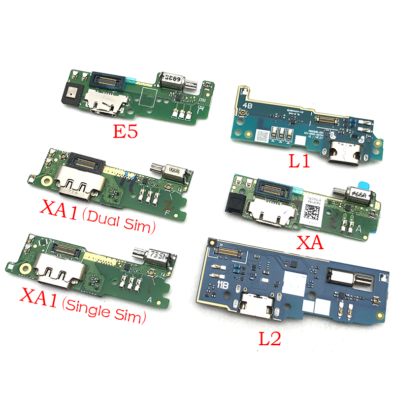For Sony Xperia E5 L1 L2 M5 XA XA1 XA2 Ultra USB Power Charging Connector Plug Port Dock Flex Cable