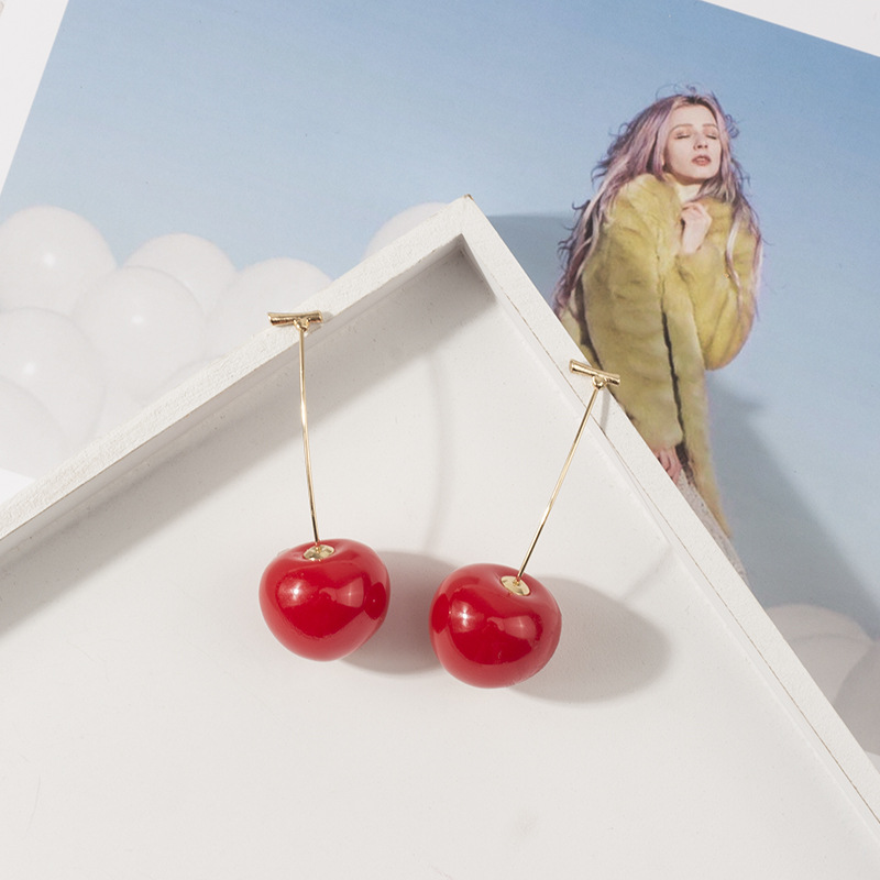 Cherry Stud Earrings 3