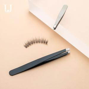 Image 1 - Youpin Jordan&Judy Eyebrow Clip Set Small Tweezers Hair Removal Plucker Beard Clip Eyebrow Trimming Tool