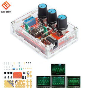 1HZ-1MHZ XR2206 Function Signal Generator DIY Kit Sine/Triangle/Square Output Signal Generator Adjustable Frequency Amplitude(China)