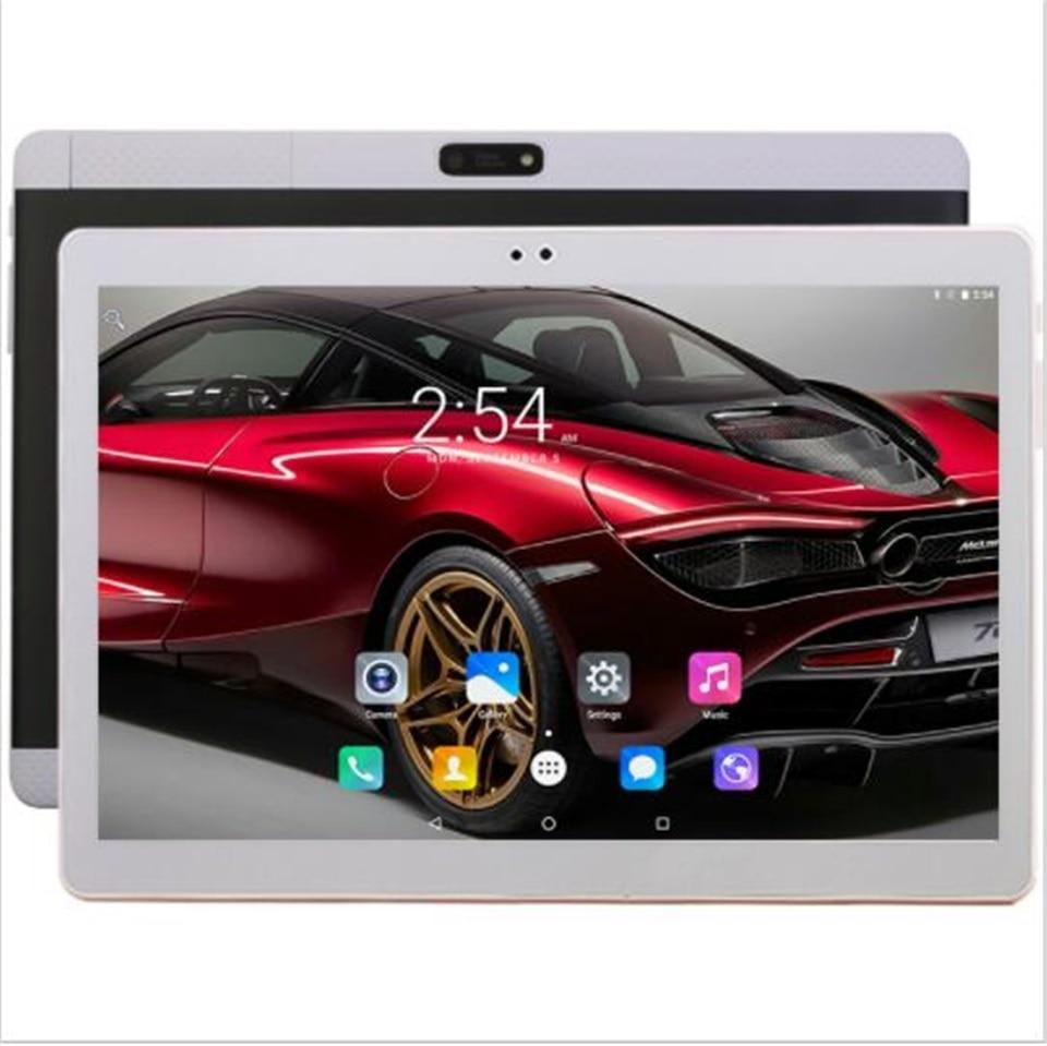 Novo DHL Frete Grátis 10 polegadas tablet PC 4G LTE Dual SIM Cards Android 7.0 10 Core 4GB RAM 64GB ROM WiFi GPS 10.1 + Guia Teclados