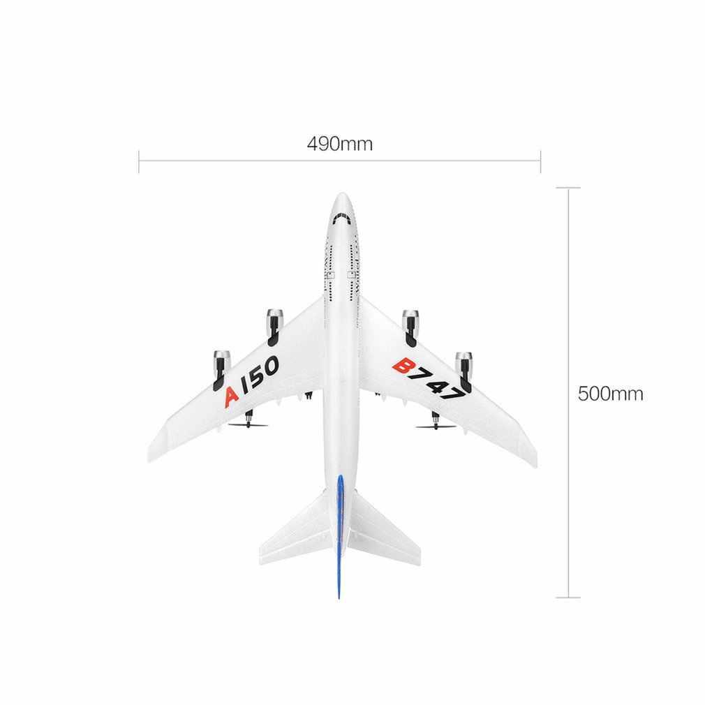 RC Fixed-Wing XK A150 Airbus B747 Model Pesawat 3CH Epp 2.4G RC Pesawat Remote Control Pengisian Pendek waktu RTF Glider Mainan