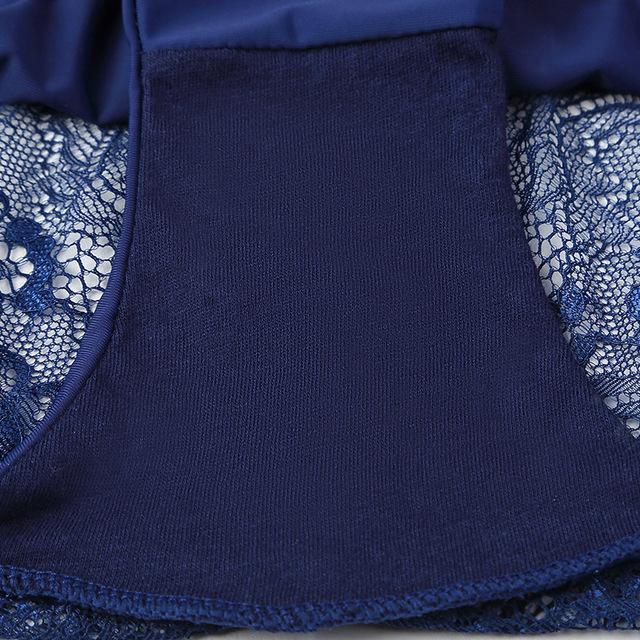 Woman Transparent Panty Low-Rise Cotton