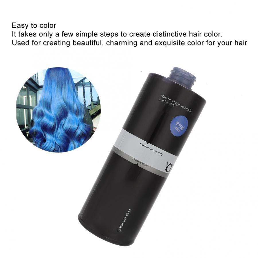 salão de beleza cabelo tingimento creme (jean azul)