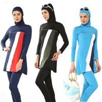 Muslim Swimwear swimming clothes Islamic Women Modest Hijab Plus Size Wear Bathing Suit Beach Full Coverage Burkinis Swimsuit 6X