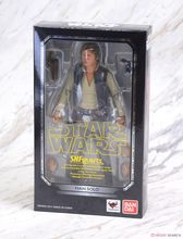 Bandai Star wars HAN SOLO anime action & toy figures model toys for children with box(China)