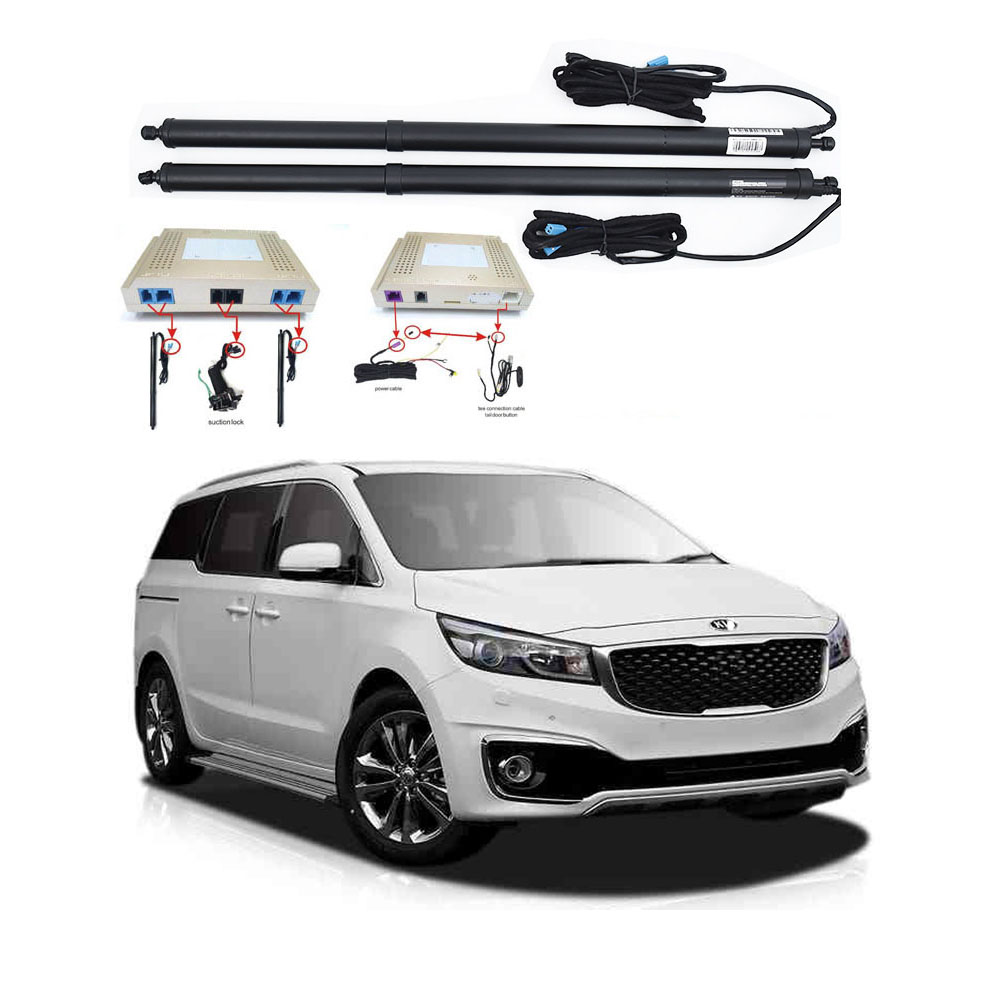 New Electric Tailgate Refitted For KIA CARNIVAL 2017 -2020 Tail Box Intelligent Electric Tail Door Power Tailgate Lift Lock
