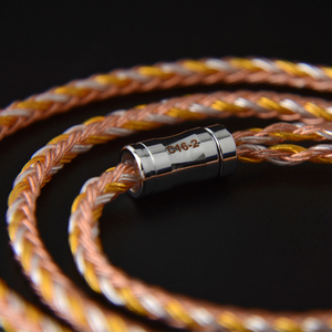 Image 3 - NICEHCK C16 2 16 Core Copper Silver Mixed Cable 3.5/2.5/4.4mm Plug MMCX/2Pin/QDC/NX7 Pin For LZ A7 ZSX V90 TFZ NX7 MK3/DB3 BL 03