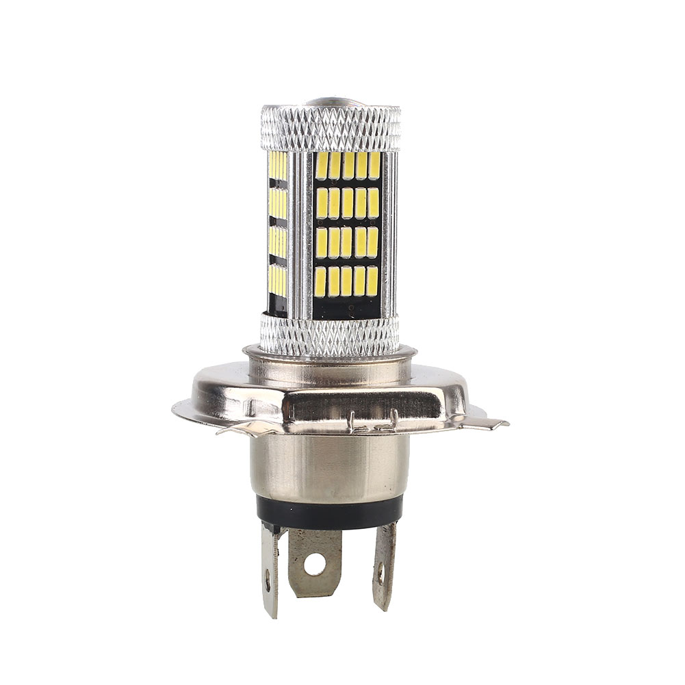 Vehemo <font><b>H4</b></font> 4014 92SMD Front Lamp Car <font><b>Led</b></font> Headlight <font><b>Bulbs</b></font> Super Bright Headlamp Fog <font><b>Light</b></font> <font><b>LED</b></font> Headlight Motorcycle Car Accessories image