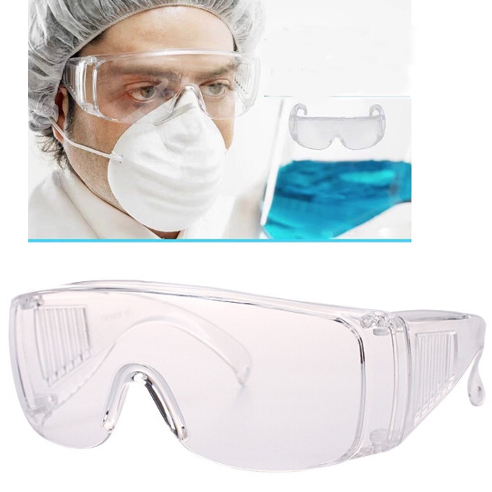 High Quality Medical Safety Goggles Fully Enclosed Protective Goggles Anti-fog Anti-splash Anti-dust Anti-wind Anti-droplets