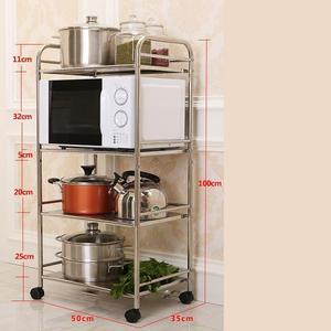 Image 5 - Holder Articulos De Cocina Home Estanteria Repisas Cuisine Rangement Raf With Wheels Estantes Organizer Kitchen Storage Rack