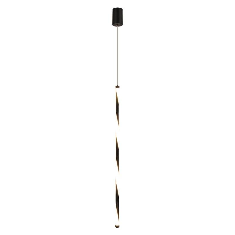 Модный светодиодный подвесной светильник s белый/черный современный подвесной светильник мини/маленький одиночный подвесной светильник а