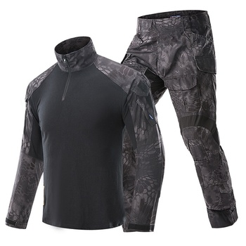 G3 Camouflage BDU Military Uniform Army Combat Shirt Pants Suit Tactical Airsoft Sniper Clothing Multicam Black Hunting Clothes