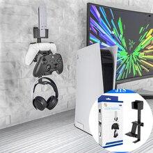 Support mural pour manette de jeu, support de rangement pour casque et télécommande, pour PS5,Xbox série X,PS4,Xbox One,NS Switch