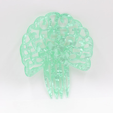 Hair comb acetic acid plate a variety of color fashionable female holiday party headdress decoration
