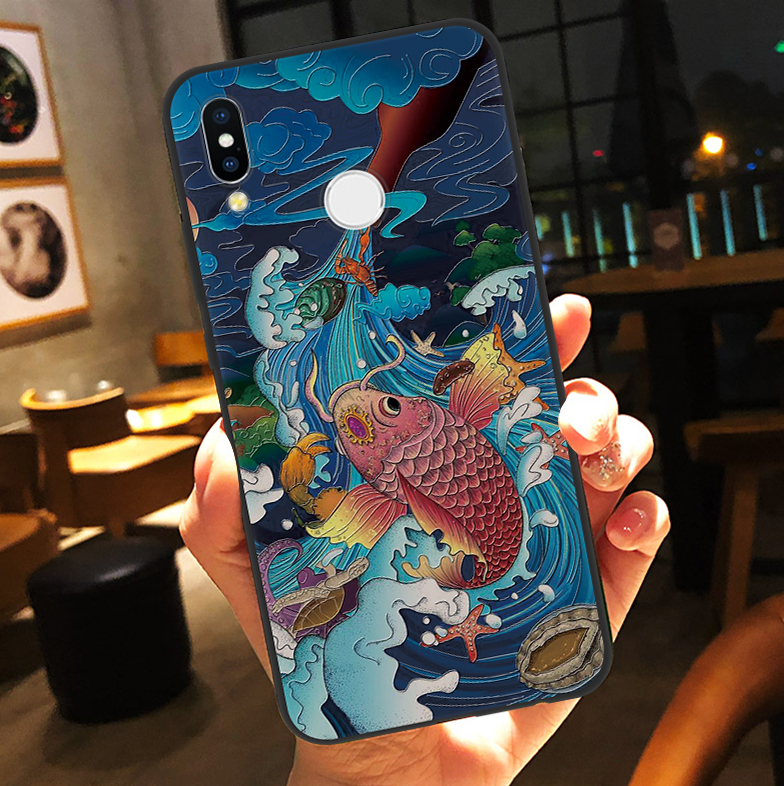 3D Relief Animal Case For Huawei Honor 8X 7A 9 Lite 10 For Huawei Mate 10 20 Lite P20 P8 P9 P10 P30 2017 Y6 Y9 Pro P Smart 2019