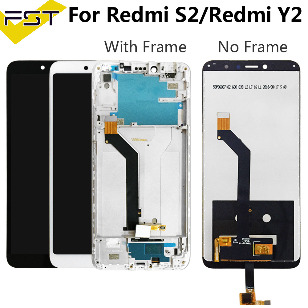 For Xiaomi Redmi S2 LCD Display+Touch Screen Screen Digitizer Assembly With Frame Replacement 5.99inch For Xiaomi redmi Y2 lcd