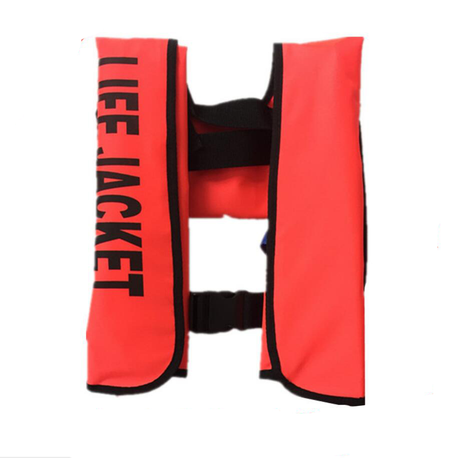 Adult Automatic Inflatable Life Jacket Bib Type Fishing Inflatable Life Vest With CCS Certificate