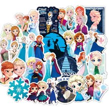 100 pièces Disney la reine des neiges princesse Sophia graffiti autocollants sur les scooters scooters valises autocollants autocollants de dessin animé(China)