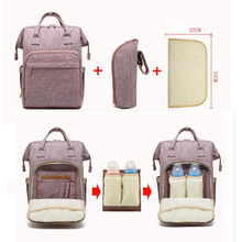 Creative detachable multi-function Mummy bag Baby diaper maternal and child Oxford cloth waterproof casual mother