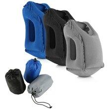Надувная спальная Подушка Компактная и портативная подушка для шеи для путешествий на открытом воздухе, путешествия в автомобиле, офисный поезд, самолет, Отдых на природе