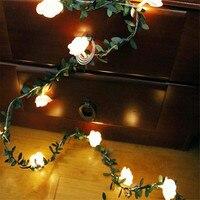 Guirnalda de luces led de 10/20/40leds con batería de guirnaldas de luces led para boda, Día de San Valentín, decoración para fiestas y eventos