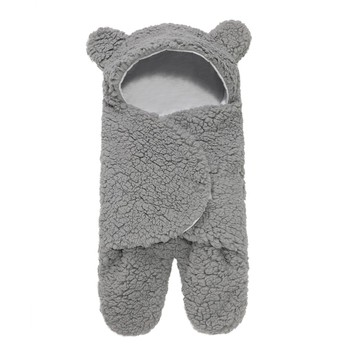 0-12 Months Autumn Baby Sleeping Bag Envelope For Newborn Baby Winter Swaddle Blanket Wrap Cute Sleeping Bags Solid Baby Bedding keying baby sleeping bags velvet with cap 2017 autumn