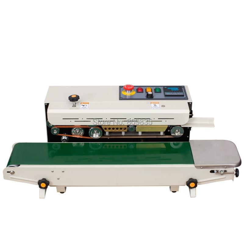 Most popular FR 900C Band Sealer Plastic Bag Continuous Film Automatic sealing machine Vacuum Food Sealers     - title=