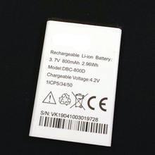 Новый аккумулятор емкостью 800 мАч для телефона doro 500 506