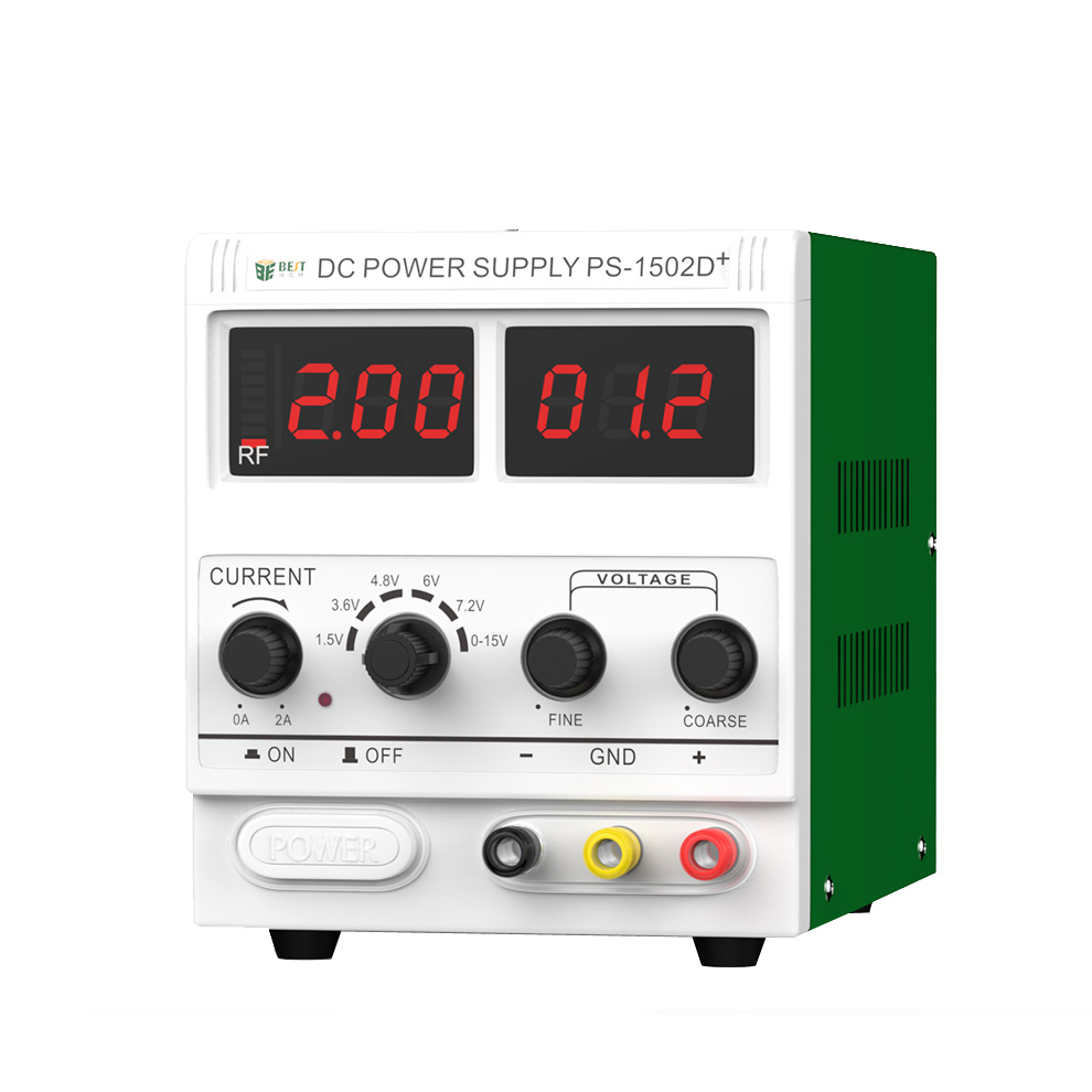 BEST <font><b>1502D</b></font>+ DC Regulated Power Supply Maintenance Of Power Supply 15V/2A Digital Controlled Power Supply Rf Signal Detection image