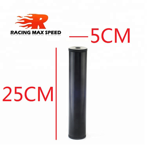 """Image 2 - NEW Billet filtro del carburante In Alluminio Turbo Filtro Aria PER Napa 4003 WIX 24003 Filtro Del Carburante 1/2 """" 28 & 1/2"""" 20 FF 03 BK"""