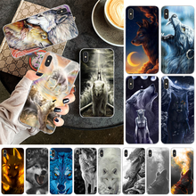 Reayou Wolf Pack of wolves Luxury Unique Design Phone Cover for iPhone 11 pro XS MAX 8 7 6 6S Plus X 5 5S SE XR cover(China)