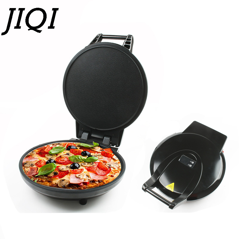 Electric Crepe Maker Multifunction Pizza Pan Pancake Baking Frying Machine Two Sides Electrical Heating Grill Griddle US EU Plug