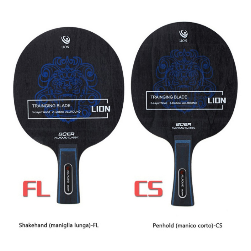 Table Tennis Racket Bottom Plate Ping-pong Bottom Plate Short Handle / Pen-hold Shockproof Blade Paddle Table Tennis Racket