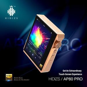 Hidizs AP80 PRO dual ESS921 MP3 Bluetooth музыкальный плеер с сенсорным экраном HiFi портативный FLAC LDAC USB DAC DSD 64/128 FM радио DAP