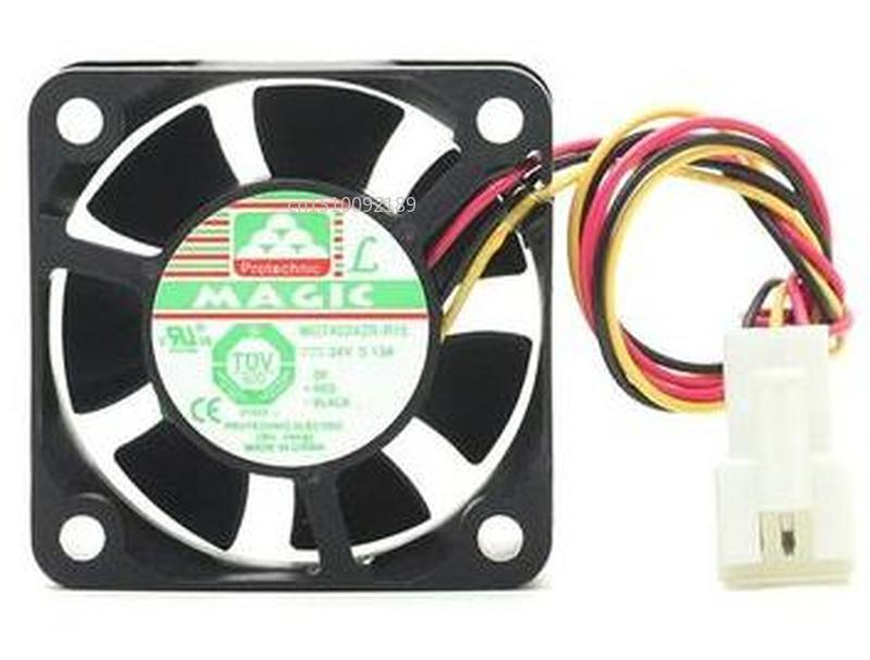 For Original MGT4024ZR-R15 4cm 24V 0.13A 4015 Inverter Cooling Fan Free Shipping