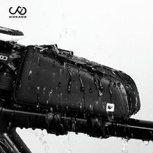 WOSAWE Cycling Bicycle Top Front Tube Bag Riding bag Waterproof Frame Bag Big Capacity MTB Bicycle Pannier Case Bike Accessories roswheel bicycle frame pannier front tube bag black red