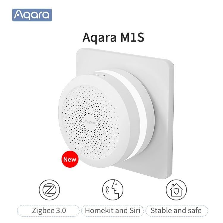 Aqara M1S шлюз Zigbee3.0 концентратор центр умного дома умный дом mihome приложение для Apple Homekit Siri Управление Новый 100% оригинал