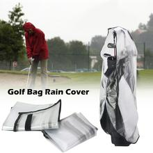 Windproof Rain Proof Cover Protection Portable Golf Bag Protector Rain Covers For Men Women Golf Bags Protect Sports Accessory