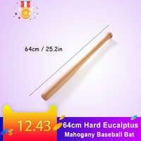 64cm Harte Eucalptus Mahagoni Baseball Bat Massivholz Bar Holz Stick baseball accessiors