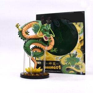 Image 5 - 15 cm Anime yeşil ejderha ShenRon ShenLong PVC Action Figure koleksiyon Model oyuncak ücretsiz kargo